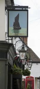 Ye Olde Smack, pub sign