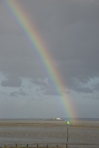 Rainbow at Southend-on-Sea