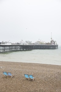 Beach and pier at Brighton