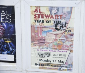 Al Stewart Year of the Cat concert poster