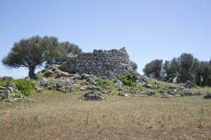 Ruined talaiot at Talati de Dalt