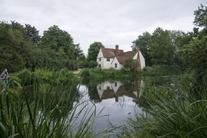 Willie Lott's house from the mill