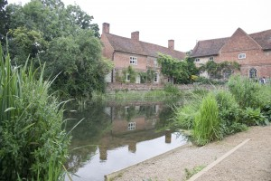 Flatford Mill across the pond