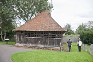 Bell Cage at St. Mary's Church, East Bergholt