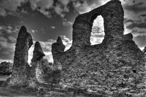 Bury St Edmunds Abbey ruins