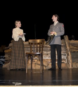 Albert Kiekert on the right - James Le Lacheur with Natalie Scotcher