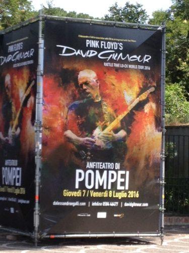 Reg Bumps into David Gilmour
