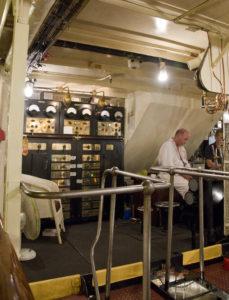 Engine room on PS Waverley