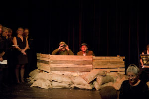 Scene from 'The Sons of Three Countries Remembered'