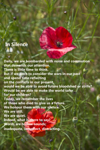 Lest We Forget - 11 November 2016