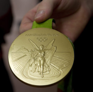 Gold Olympic medal - Max Whitlock