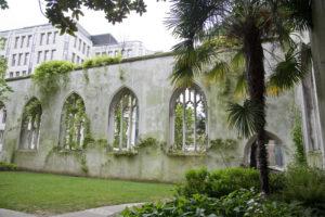 St. Dunstans' in the East garden