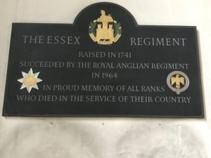 The Essex Regiment memorial