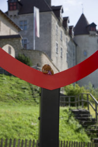 Reg at the Castle of Gruyere
