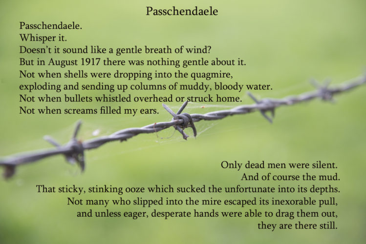 Remembering Passchendaele August 1917
