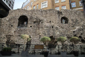 Roman London - Wall in Cooper's Row