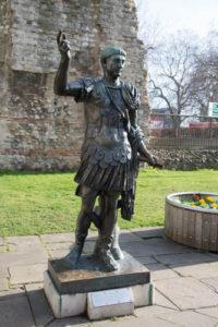 Roman London - Statue of Trajan