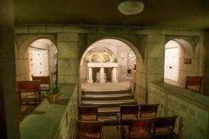 Chapel with Templar altar