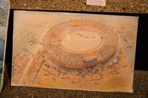 Image of what the Roman amphitheatre would have looked like