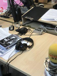 Rat on the desk