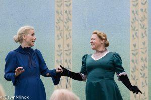 Lady Caroline Pontefract and Lady Hunstanton