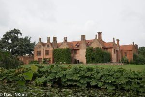 Ingatestone Hall from the garden