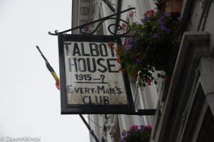 Talbot House, Poperinghe, Belgium - sign