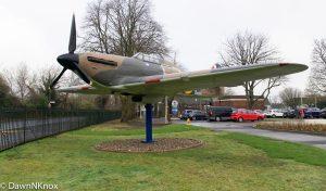RAF Biggin Hill - Spitfire