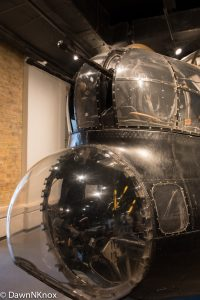 Lancaster Bomber in Imperial War Museum