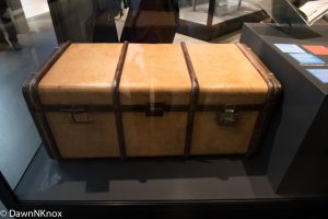 Trunk - exhibit in Imperial War Museum
