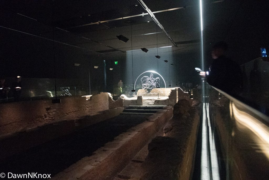 Inside the London Mithraeum