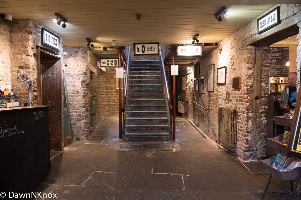 Entrance hall to Wiltons Music Hall