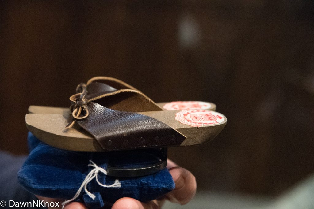 Child's pattens for wearing over shoes
