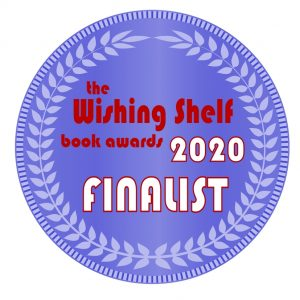 Wishing Shelf Book Awards Finalist Medal