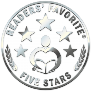 Readers' Favorite 5 star award badge